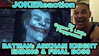 Batman: Arkham Knight Ending + Final Boss REACTION