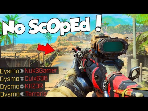 NO SCOPE AIMBOT! 😂 (Black Ops 4 Funny Moments & Sniping)