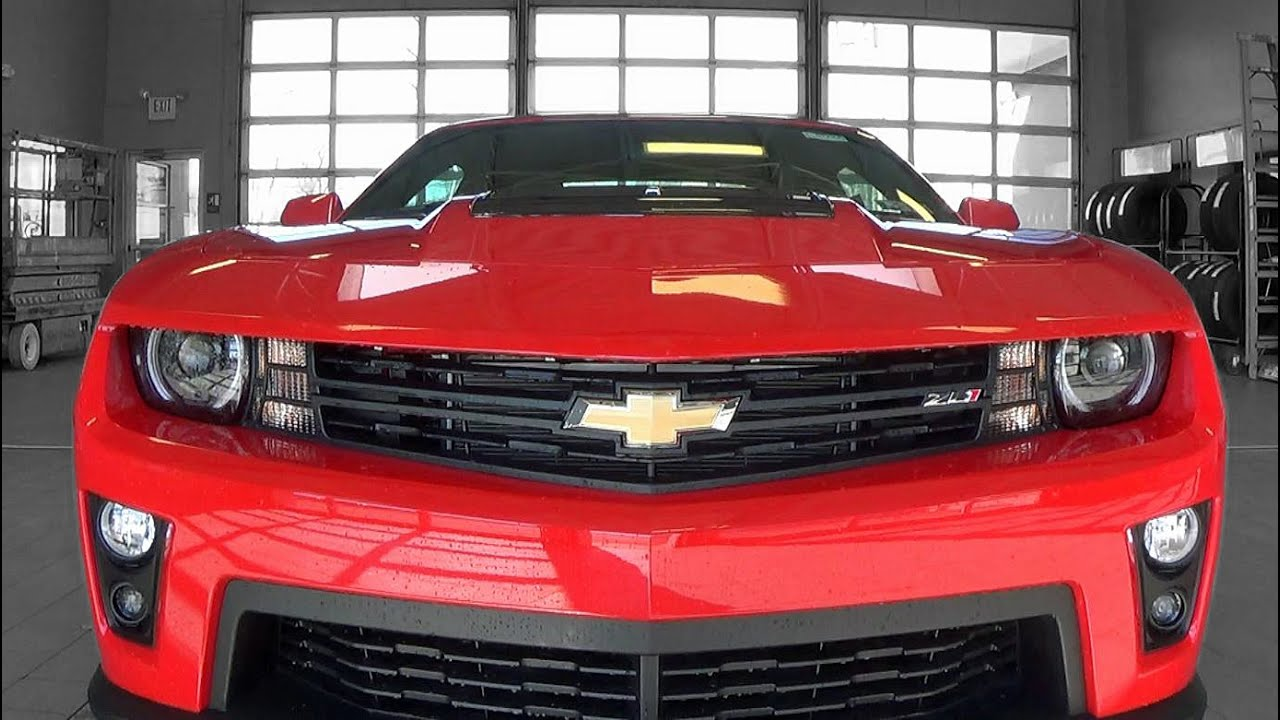 2015 Chevrolet Camaro Zl1 Review Youtube