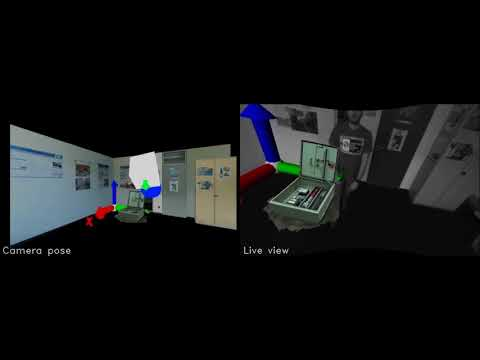 Visual Inertial Tracking (EKF-based) for working environments