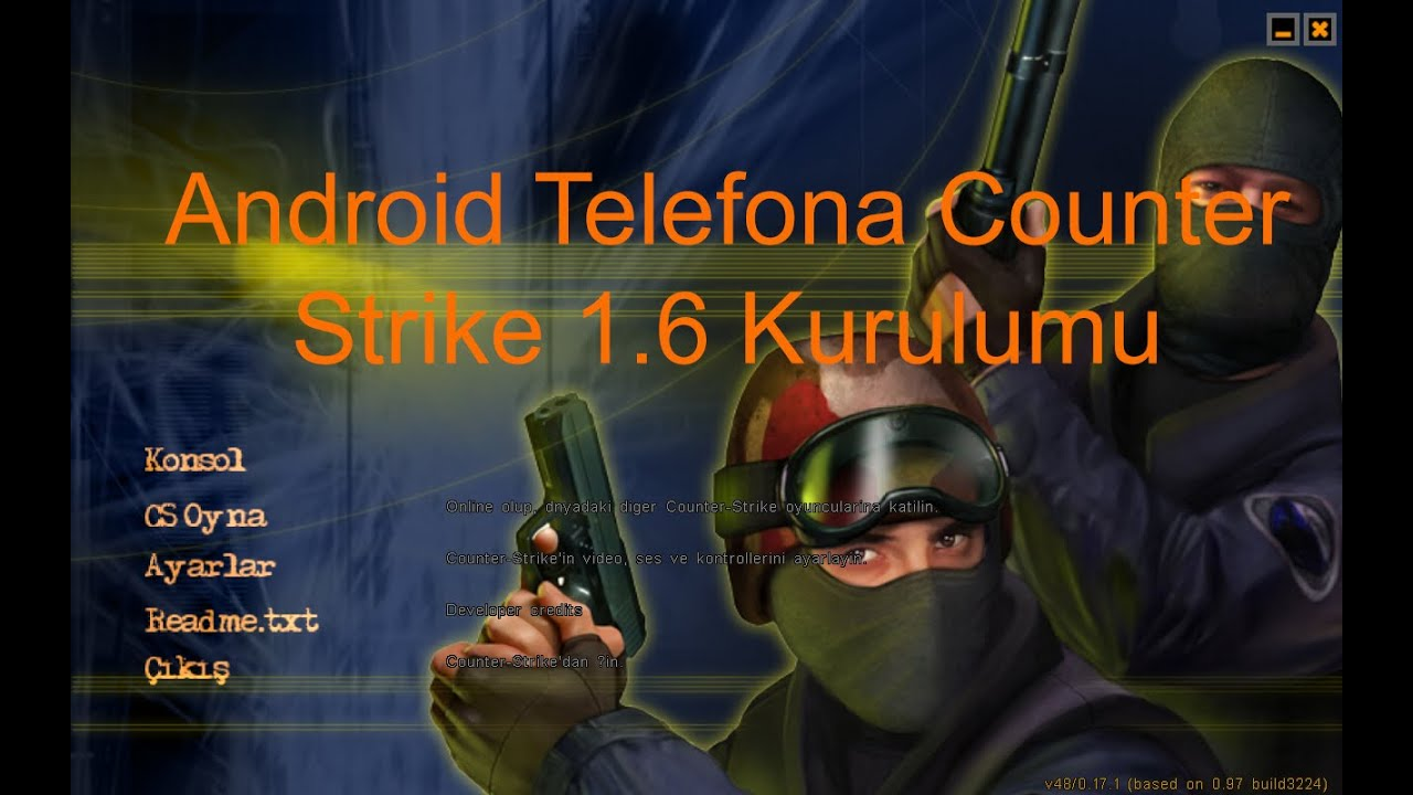 how to play cs 1.6 on android
