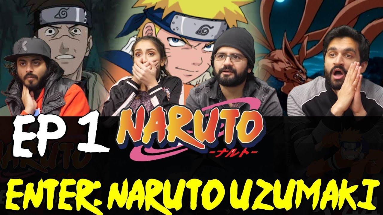 Download Naruto - Episode 1 - Enter: Naruto Uzumaki - Group Reaction