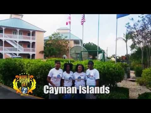 NEW YORK Harvesters Storm CAYMAN ISLANDS @ WORLD VISION DAY Jan.2015
