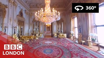 360° Video: Buckingham Palace Tour - BBC London