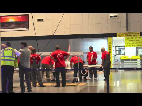 Portline Macedonia & ONE Telecom Slovenia - Skopje Airport Advertising (Special Execution)