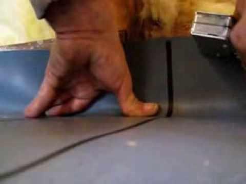 Beau How To Make And Install A Shower Pan Liner Wetbed Installation For A  Ceramic Tile Shower Basin Diy   YouTube