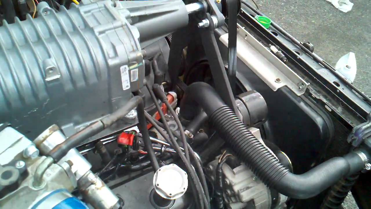 Eaton M112 Cobra Supercharger On 1990 5 0 Mustang
