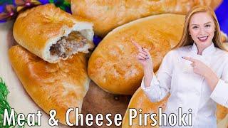 Meat and Cheese Piroshki