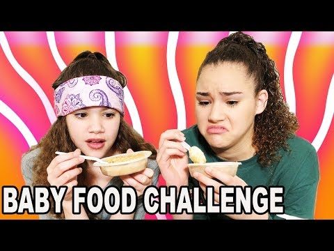 Baby Food Challenge (Haschak Sisters)