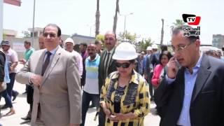 وزير الإسكان يتفقد مشروعات الصرف الصحي بالدقهلية