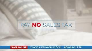 Tax Free Mattress Sale