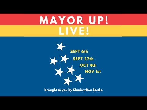 Mayor Up!  A series of forums featuring the mayoral candidates for Durham NC.