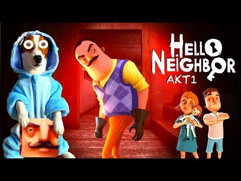 ЛОКИ БОБО играет в Привет сосед 1 акт ► Hello Neighbor Act 1