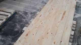 Как делают мебельный щит на фабрике Столярыч(как делают мебельный щит для производства лестниц на фабрике