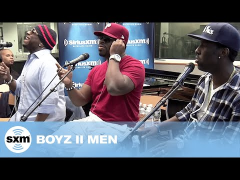 "Boyz II Men ""It's So Hard To Say Goodbye To Yesterday"" // SiriusXM // Heart & Soul"