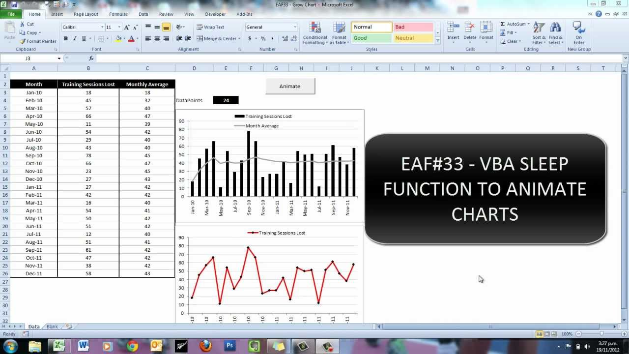 Eaf33 vba sleep function to animate excel charts ccuart Images