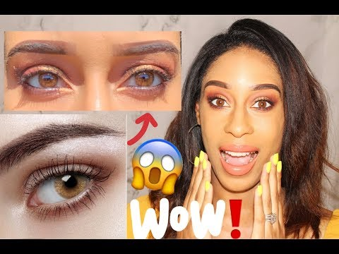 SOFTLENSQUEEN MICA SPARKLE BROWN CONTACTS | MY HONEST OPINION IS    😱