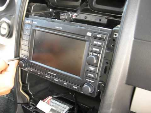 How to Remove Radio / Navigation / CD Changer from Dodge ...