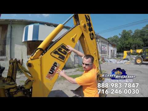 Backhoe Rental Or Buy A Used One?  Used Backhoe Buying Tips - ConEquip Parts