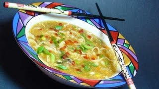 Hot & Sour Soup Recipe - Indian Chinese Version