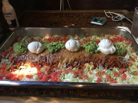 Donkey Burrito Challenge! Huge Burrito Food Challenge!