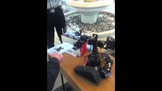 Робот при входе в ИТМО, раздающий буклеты(, 2012-03-18T15:28:08.000Z)