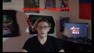 What is Adrenaline Vlogger? & Action Point Trailer Reaction