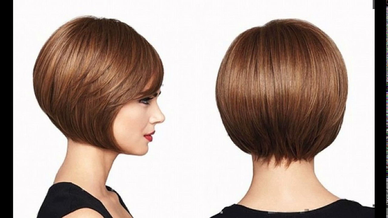 Short Inverted Bob Haircut Pictures Youtube