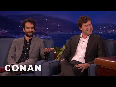 Jay and Mark Duplass' Awkward OnSet Nudity   CONAN on TBS