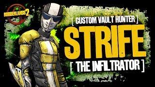 Borderlands 2 | [CUSTOM VAULT HUNTER] The first fully fleshed out custom VH | Meet Strife