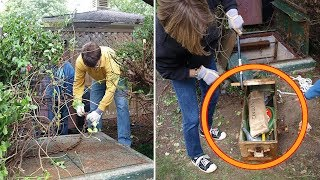 When This Mom Finally Opened the Rusted Hatch in Her Garden. She Never Expected This