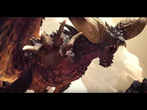 Monster Hunter World Beta - Nergigante Multiplayer Hunt (HBG)
