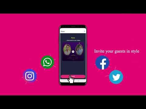 Video Invitation Maker By Inviter