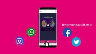 Best Video Invitations Maker App For Android | Inviter.com