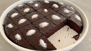 Bol Sosuyla En Kolay Islak Kek Nasıl Yapılır