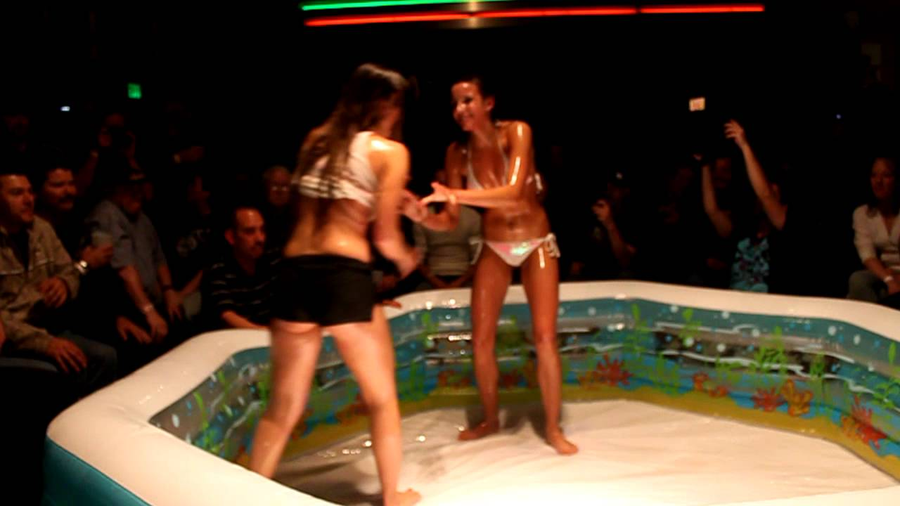 Touching phrase Sexy oiled bikini wrestling can recommend