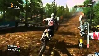 MUD FIM Motocross World Championship - Real gameplay - Belgium.