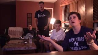 Yankees Fan Reaction - Yankees Astros - Game 7 ALCS