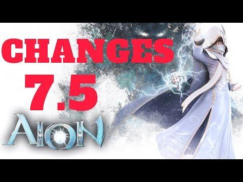 AION 7.5 Changes In Instances