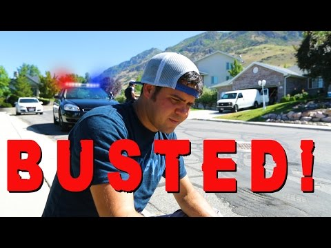 BUSTED! Locals Turn Us In!