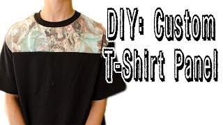 Download Video DIY: Custom T-Shirt Panel Tutorial   KAD Customs #22 MP3 3GP MP4