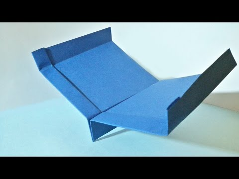 Make Long Distance Flying Paper Airplane