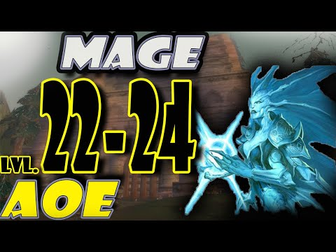 Classic WoW Mage AoE Leveling Guide: 22-24 - Silverpine Forest (HORDE)