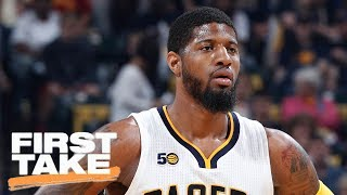 Paul George Better Fit For Clippers Or Cavaliers First Take June 20, 2017