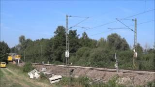 Train spécial en Allemagne, et RVB... [HD]