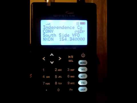 Southside VFD using NXDN digital on a Whistler TRX-1 by Mark Lawrence