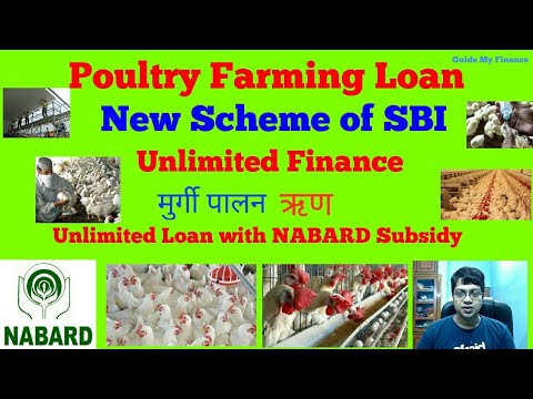 SBI New Poultry Loan with 100% Finance | Unlimited Loan for Poultry Farming - YouTube