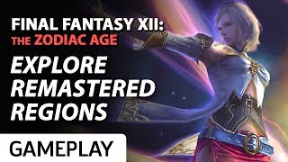 Final Fantasy XII: The Zodiac Age - 11 Minutes of Combat and Exploration Gameplay
