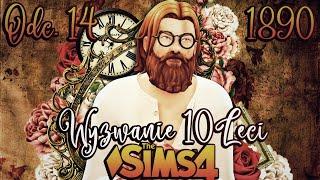STANLEY OSZALAŁ ⌛#14 - The Sims 4 WYZWANIE DZIESIĘCIOLECI 1890 r. | Mrs. Scarlett