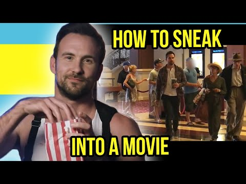 How to Sneak Into Movie Theaters Steven Stealberg